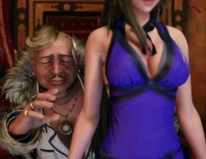 【FF7 リメイク】クラウドの女装イベントまとめ & ティファ・エアリスのちょっとエッチなドレス衣装まとめ動画