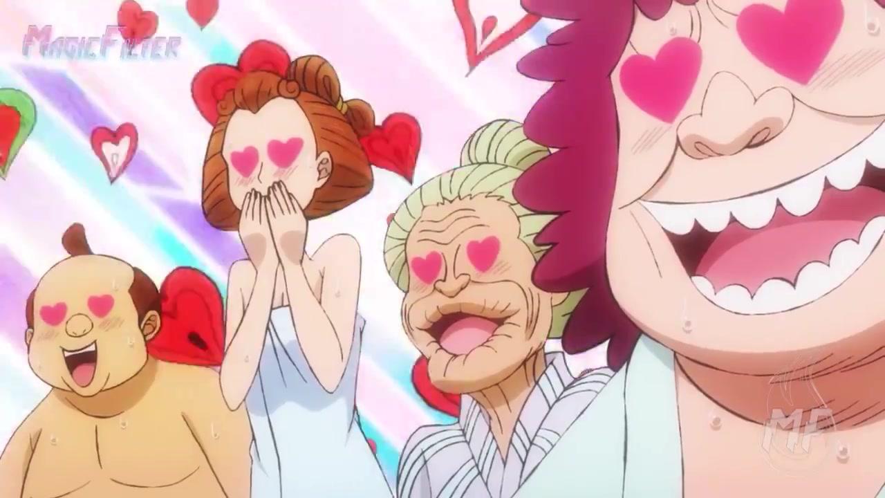 ワンピース 第932話 全裸コラアニメ キャプチャー画像 12