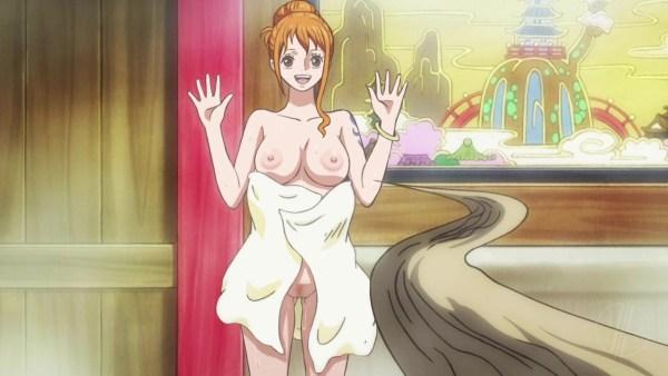TVアニメ ワンピース 第932話 ナミの幸せパンチ (ワノ国編)【剥ぎコラGIF+動画】キャプチャー 17