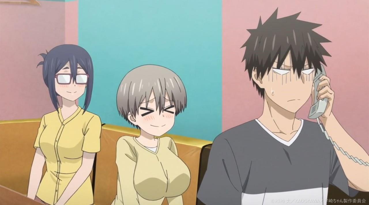 TVアニメ 宇崎ちゃんは遊びたい! 第11話「桜井も遊びたい?」キャプチャー画像 17