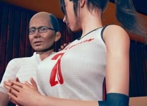 【TSF・女体化】セクハラ体育教師さん、巨乳バレーボール選手の身体を乗っ取りJKライフを謳歌してしまう・・・・。