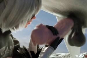 【ウマ息子 フルチンダービー】ガチ馬の70cm超え超巨根チ〇ポと獣姦する女たちがヤバいwww(画像あり)