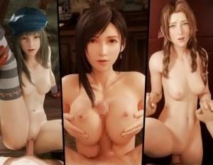 【3DCGアニメ】FF7リメイクに登場するほぼ全ての女キャラとエッチできる3Dエロアニメパック