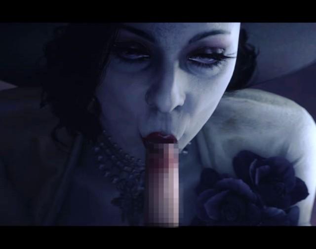 【3Dエロ動画】吸血鬼のドミトレスクさん、イーサンを捕まえてザーメン搾取してしまうwwwww(バイオハザード8)