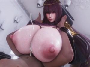 【FGO】おっぱいの大きいスカサハさん、ショタちんぽを貪ってしまうwwwww(3DCG集)