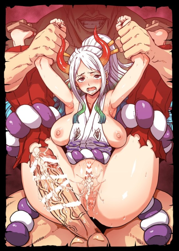 【ワンピースHCG】ヤマトくん、レ〇プで身体に女だと教え込まれる・・・。
