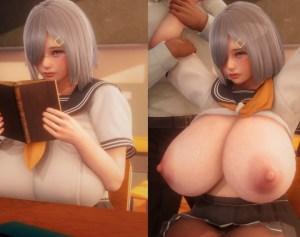 【画像】乳がデカすぎるJKさん、クラスメイト男子に集団で襲われてしまう・・・。