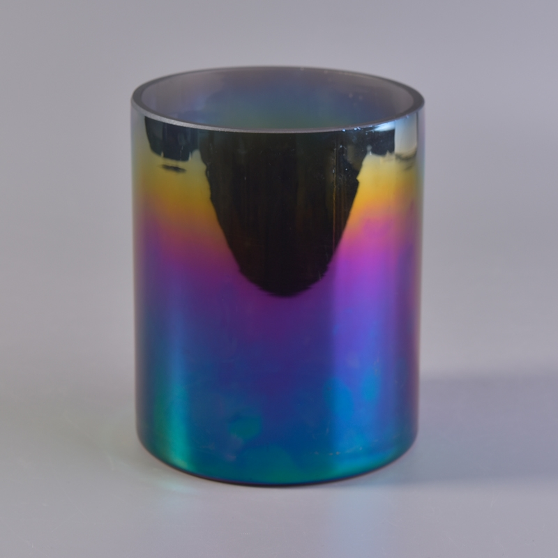 Different Types Ion Plating Of Candle Holders Glass