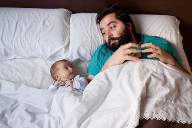 Resultado de imagen para fotos hijo durmiendo con sus papas
