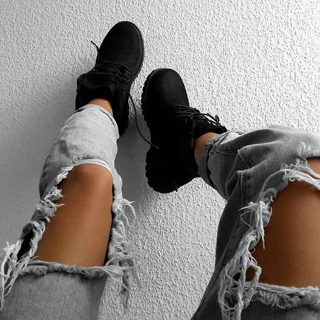 Timberland Outfits Boots Tumblr