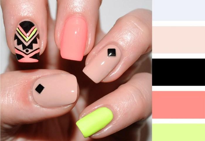 15 Combinaciones De Colores Para Una Manicura Perfecta