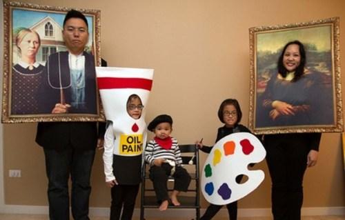 disfraces originales en familia