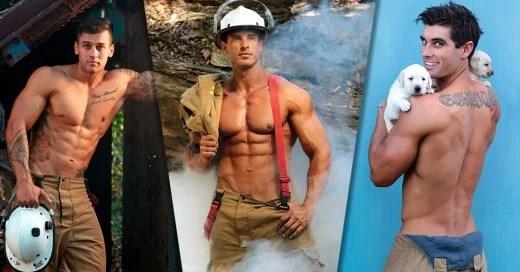 Estos bomberos australianos están incendiando las redes con su sexi calendario 2018