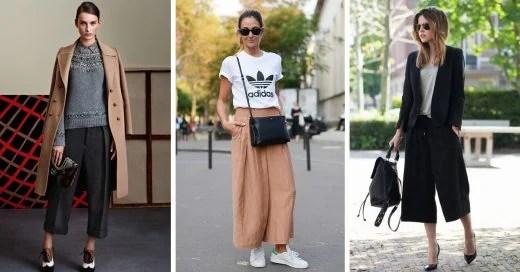 15 Maneras de combinar esos cómodos pantalones anchos