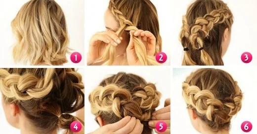 Como Hacer Peinados Faciles Para Pelo Corto Por Los Hombros
