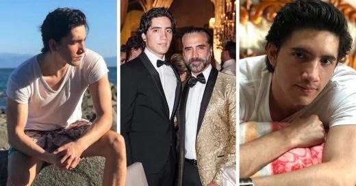 El hijo mayor de Alejandro Fernández roba suspiros en las redes sociales