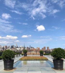 East Village Museum Rooftop Skylight Pond