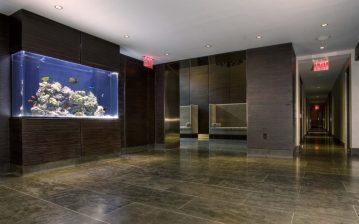 Battery Park City Lobby Aquarium