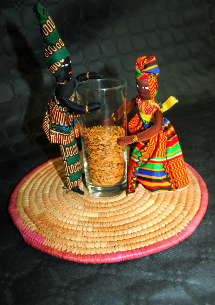 Poupées africaines en cuisine !