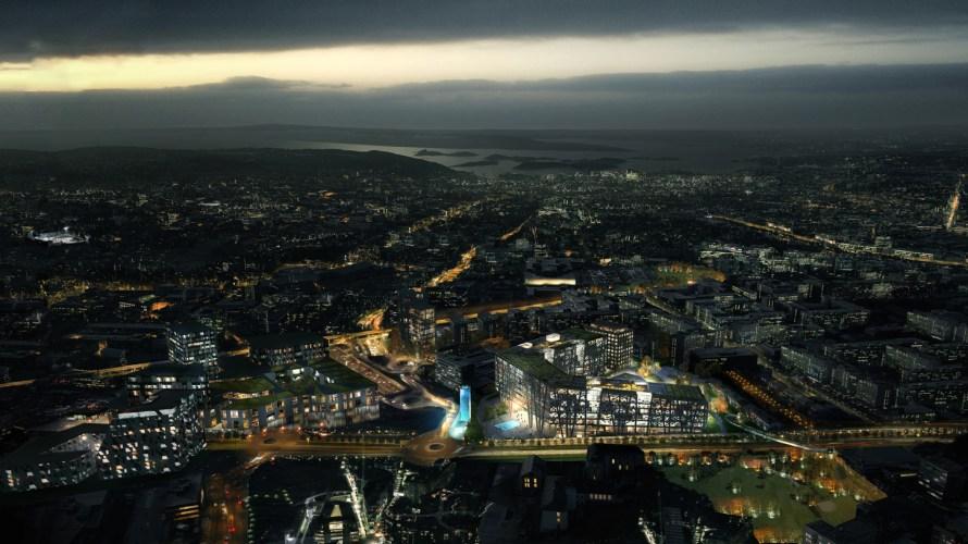 Det første Radisson RED hotellet i Norge åpner på Økern i 2022. Økern Portal ferdigstilles i 2021. Oslo Pensjonsforsikring, som eier tomten, hadde først tenkt til å pusse opp blokken. […]