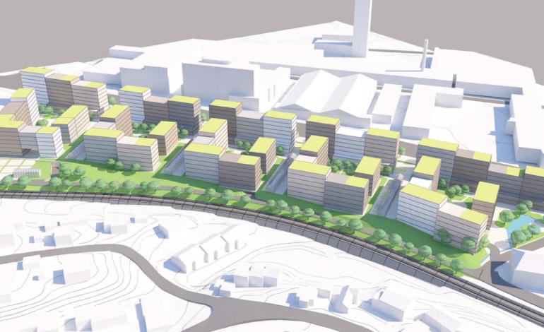 OBOS vil bygge leiligheter langs Østre Aker Vei 24