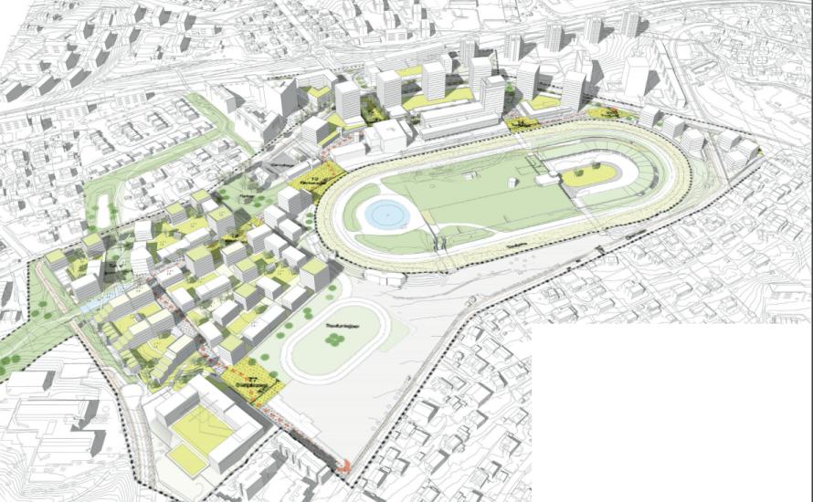 Bjerke Travbane har store planer for å transformere de store eiendommene de eier på Bjerke. Det kan komme opp mot 1900 boliger ved travbanen. Nå er det utarbeidet et forlag […]