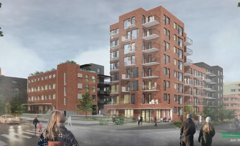 Oppdatert planforslag for Lørenvangen 22 og Peter Møllers vei 13