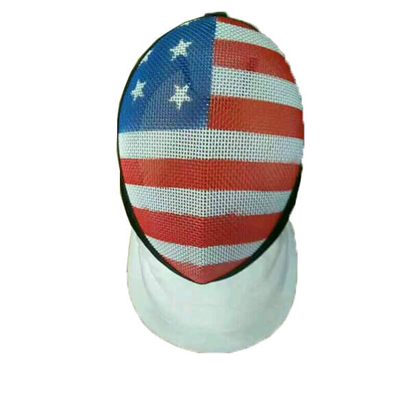 Epee mask with US Flag