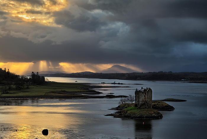 Szkocja_zamek Stalker
