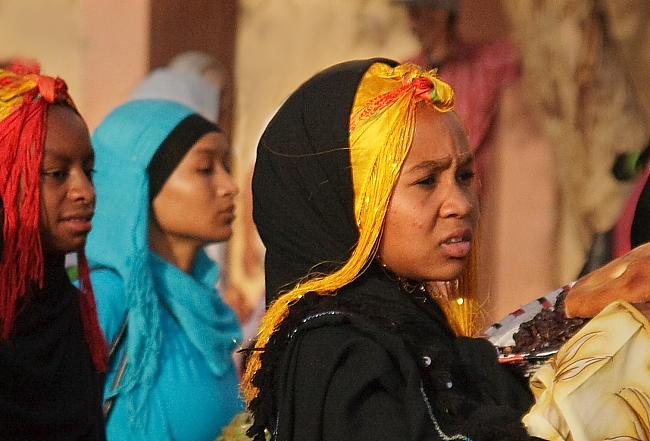 Berberyjki w tradycyjnych strojach