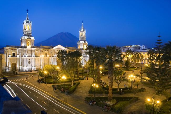 Rynek w Arequipie