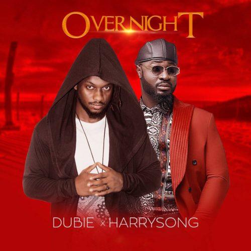 Dubie ft. Harrysong – Over Night