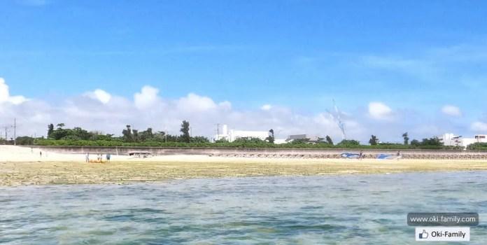 Bibibeach 沖繩美美海灘 岡波岩 鯨魚化石