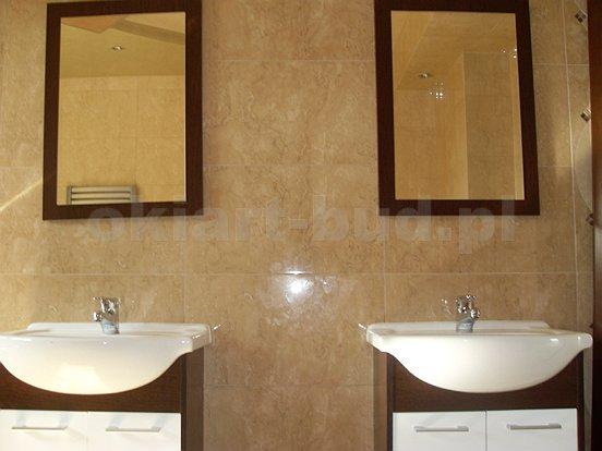 Łazienka - remont ,kładzenie płytek, flizowanie, rigipsy , OKIART-BUD Maciej Oczkowski 12
