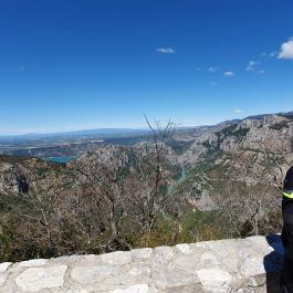 Widok na kanion Verdon