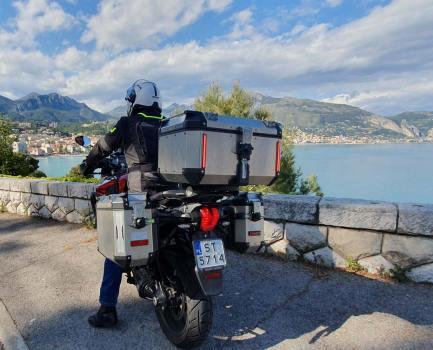 Côte d'Azur à moto