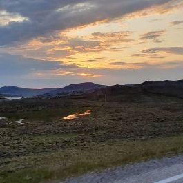 północ na Nordkapp - golden hour