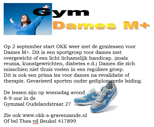 Poster Dames M+