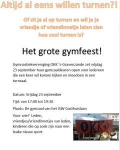 poster grote gymfeest