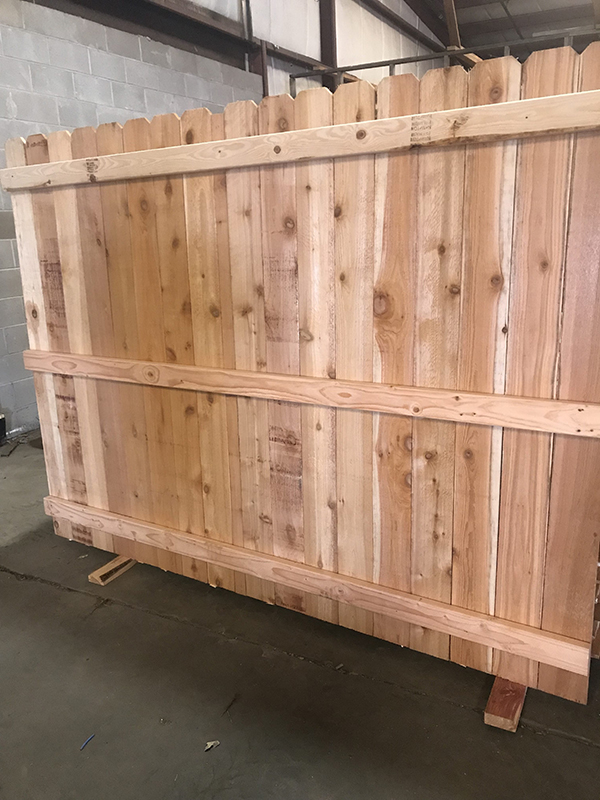 Cedar Fence Panels 1x6x6 For Sale Okc Oklahoma Lumber