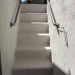 OKC Storm Shelter Staircase