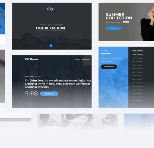 EZY - Responsive Multi-Purpose WordPress Theme - 7