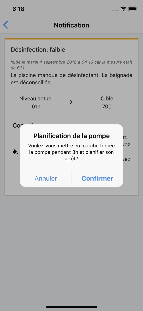 Domotique Piscine Planification