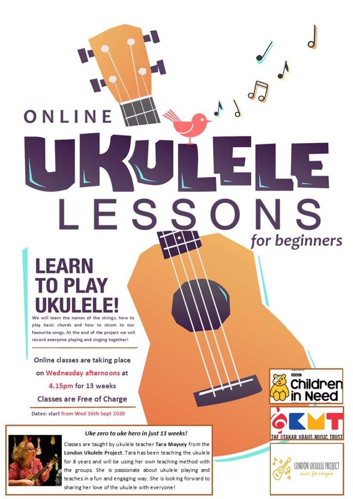 Free Ukulele Lessons - Otakar Kraus Music Trust