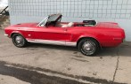1968 Ford Mustang GT J Code Convertible