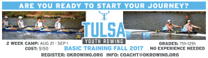 Tulsa Youth Rowing Association - Learn to Row