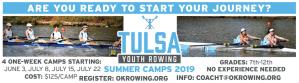 Tulsa Summer Camp Kids Youth Rowing
