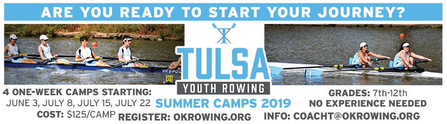 Tulsa Summer Camp Kids Youth Rowing