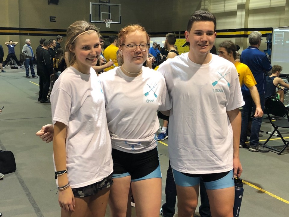 athletes students wichita indoor ergometer team race tulsa youth rowing association winners