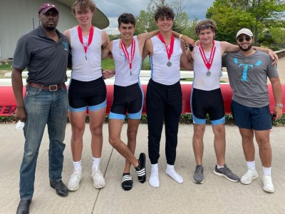 central districts 2021 boys novice quad silver medals